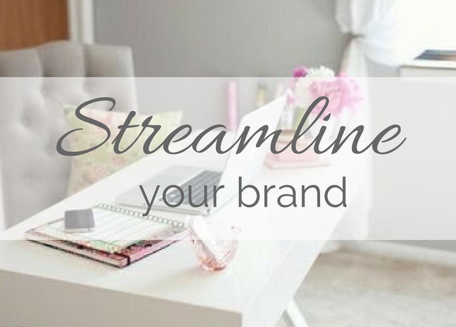 Streamline Your Brand