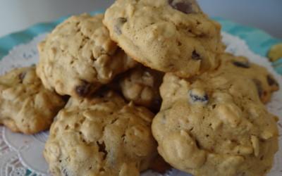 Cashew Butter Oatmeal Cookies