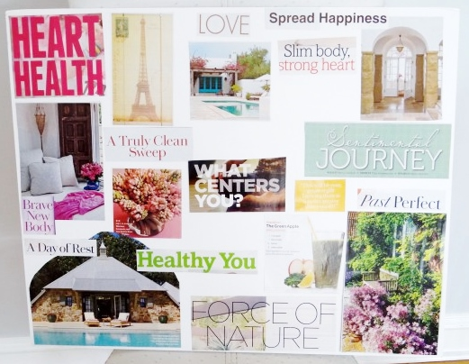 Vision Board-Dreaming Big With Feelings
