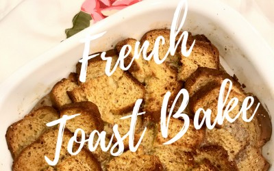 Healthy Nourishment: Gluten Free French Toast Bake