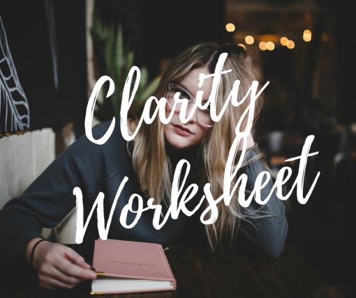 Clarity Worksheet2
