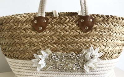 Rustic Wedding Tote Basket