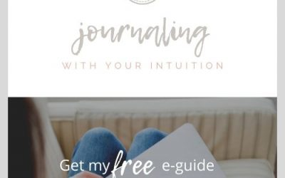 My FREE JOURNALING gift to you!